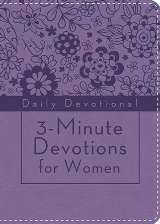 3 minute devotions for girls 1628366389 3 minute devotions for women daily devotional by anonymous