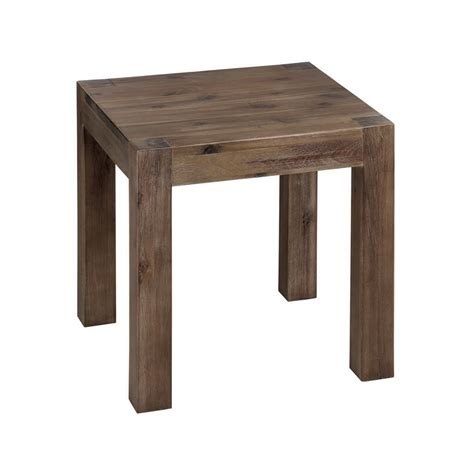 solid wood side table l table forever