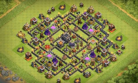layout th9 home base 6 epic th9 war base layouts farming base layouts with