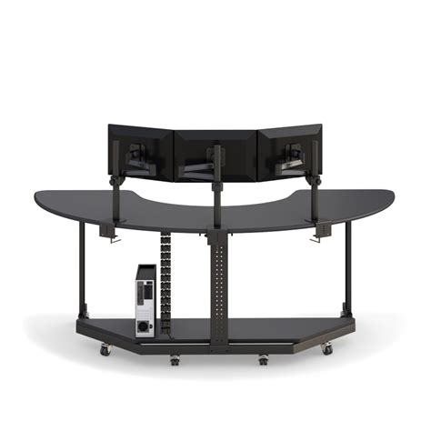 Adjustable Height Computer Desk Workstation U Shaped Computer Workstation Table Afcindustries