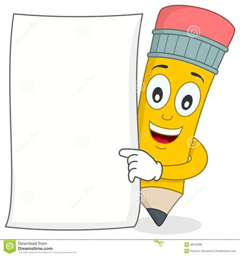Cartoon Blank Paper Www Pixshark Com Images Galleries