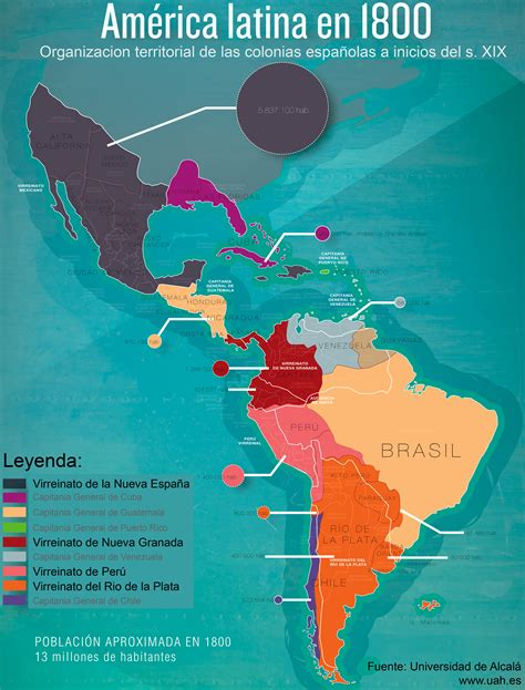 latin america since 1780 la independencia de am 233 rica latina i de 1780 a 1810 latin america hoy