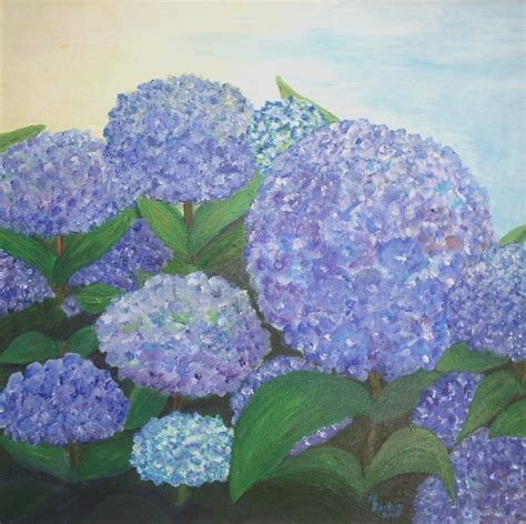 free illustration hydrangeas blue painting image free image on pixabay 21320