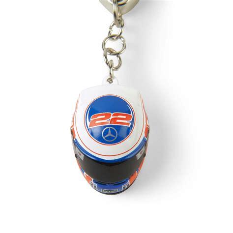 mclaren mercedes jenson button 2014 helmet keyring key
