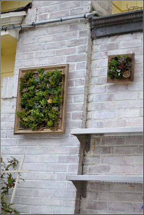 Garden Wall Hanging Beautify Your Patio Trough Garden Wall Ideas