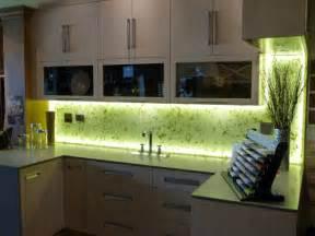 Led Backsplashes by Illuminated Kitchen Backsplash With Rice Paper Leaves Into