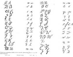 colonial handwriting sles