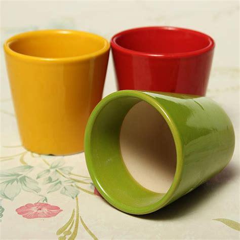 mini ceramic succulents flower pot garden flower plant pot