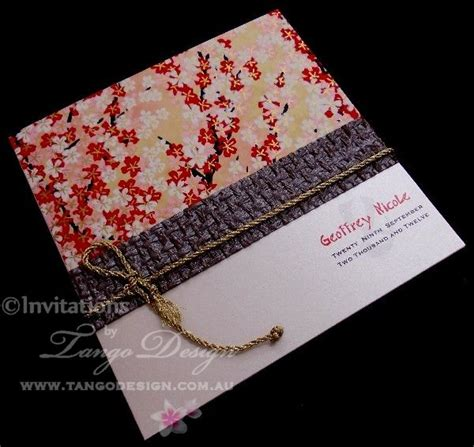 Wedding Invitation Japanese by 24 Best Images About Japanese Paper Crafts On