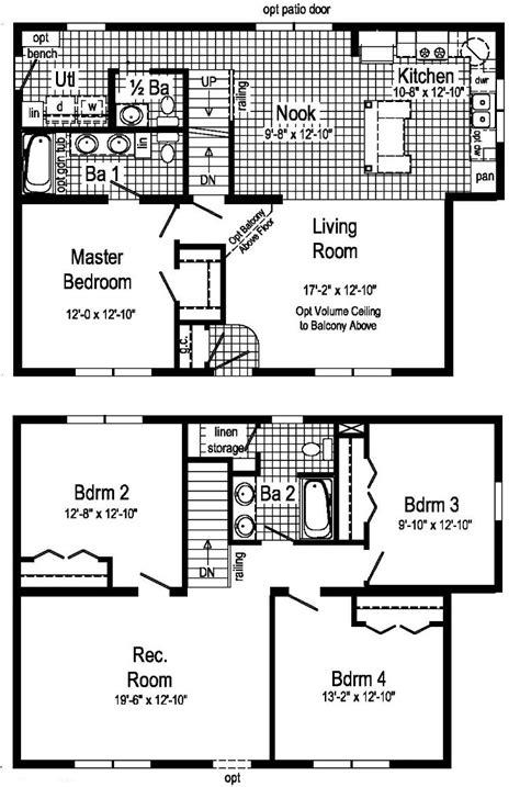 hunting c floor plans hunter modular home floor plan