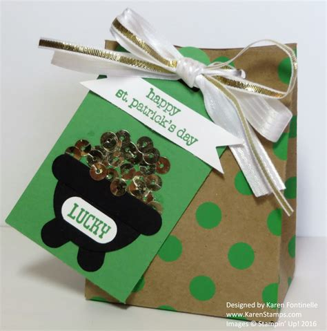 s day gift bags st s day gift bag and tag