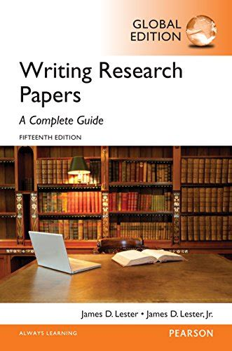 writing research papers a complete guide writing research papers a complete guide global edition