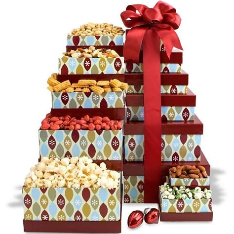 holiday delights gift tower christmas gifts