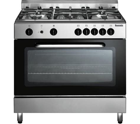 Oven Gas buy baumatic bc190 2tcss gas range cooker stainless