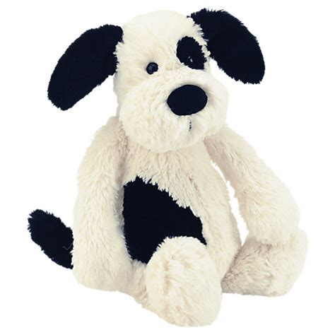 jellycat bashful puppy buy jellycat bashful puppy soft medium black white lewis