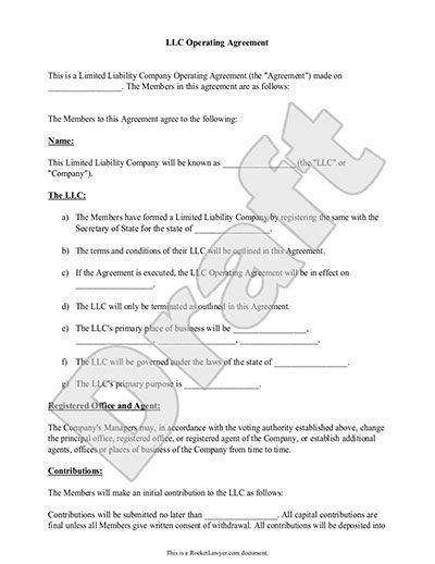 llc purchase agreement template llc operating agreement sle template llc