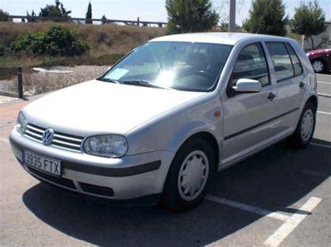 Auto Vw Gol 98 by Vw Golf Auto Used Car Costa Blanca Spain Second Hand