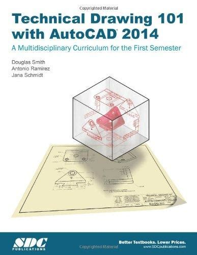 Drawing 101 Book by Technical Drawing 101 With Autocad 2014 By Antonio Ramirez