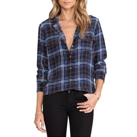 Draped In Plaid by Rails Draped In Plaid Shirt Rank Style
