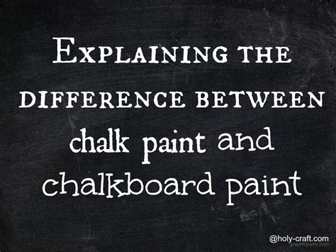 chalkboard paint vs black paint the difference between chalk paint and chalkboard paint