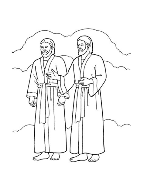 lds coloring pages heavenly father 1st article of faith godhead