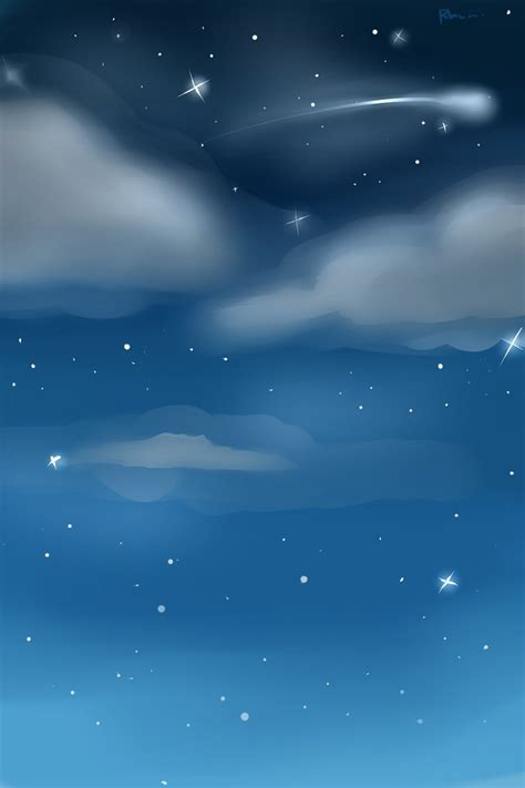 wallpaper chat line night sky custom background by rhuni on deviantart