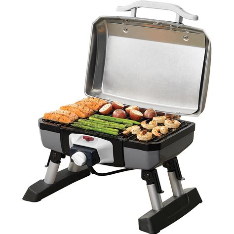 table top electric barbecue grill cuisinart outdoor electric tabletop grill