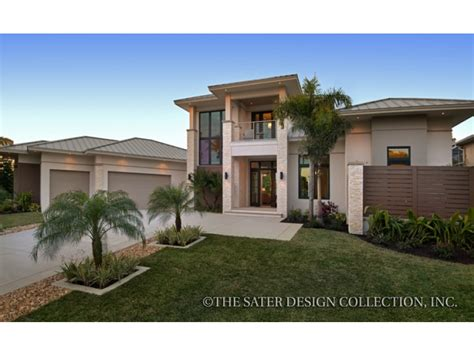 modern home design florida eplans contemporary modern house plan a private resort