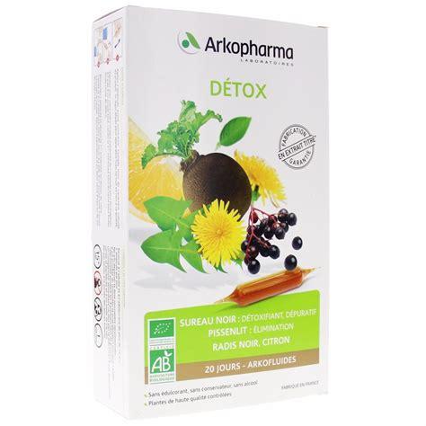 Detox Arkofluides by Arkofluide Detox 20 Oules De 10 Ml Arkopharma