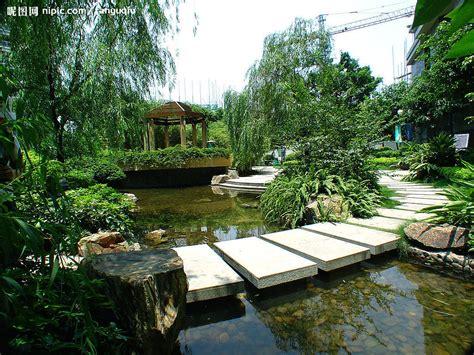 the backyard at the w 荔港南湾花园园林水景图摄影图 园林建筑 建筑园林 摄影图库 昵图网nipic com