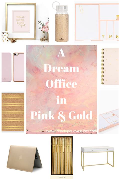 rose gold desk accessories pretty rose gold office supplies in pink and gold your