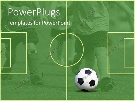 free football powerpoint template powerpoint template a black and white