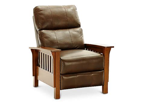 Mission Leather Recliner by 301 Moved Permanently