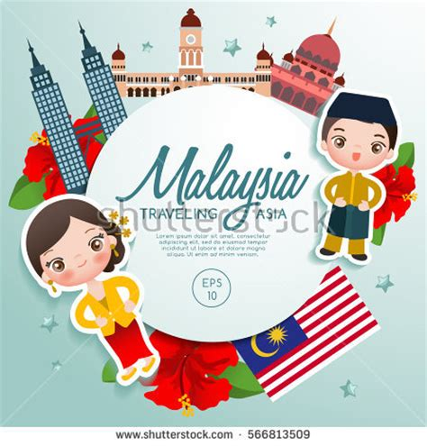 wallpaper cartoon malaysia malaysia culture stock images royalty free images