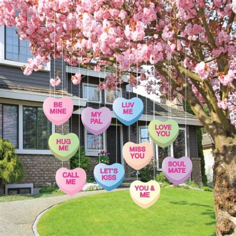 heart decorations for the home valentine day outdoor decorations for home webnuggetz com