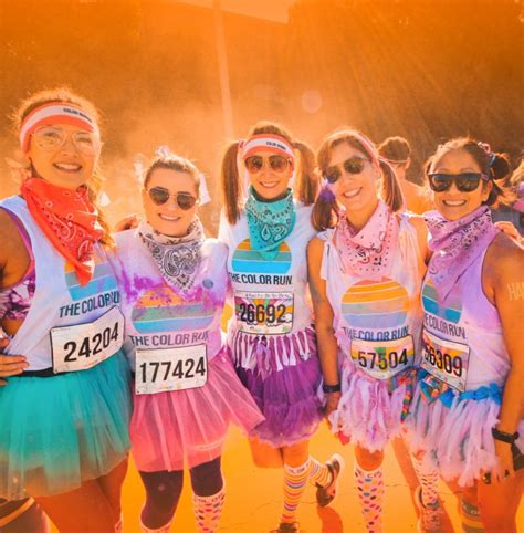 the color run color run offers vibrant 5k experience org