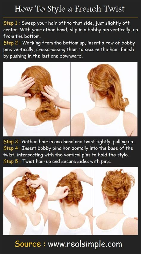 how to french twist hair 9 steps with pictures wikihow how to french twist your own hair how to style a french