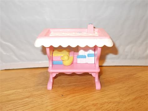 Fisher Price Baby Furniture by Fisher Price Loving Family Baby Dressing Table Nursery