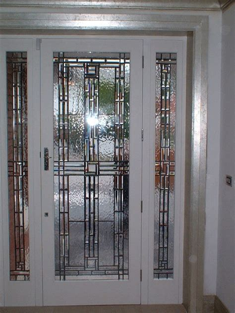 Beveled Glass Door Panels 17 Best Images About Beveled Glass On Glass Design Custom Glass And Door Entry