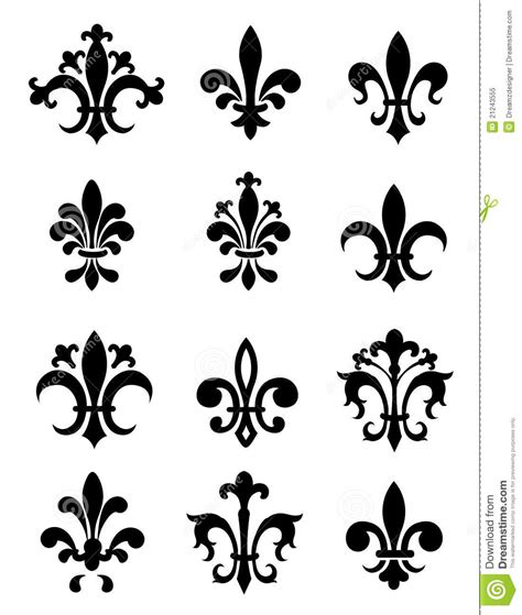 fleur de lis royalty free stock photo image 21243555