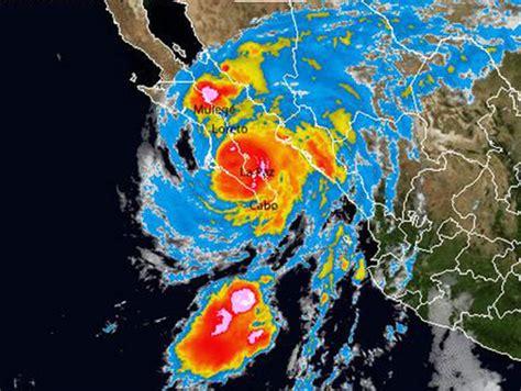imagenes satelitales recientes odile amenaza al golfo de california sinaloa suspende