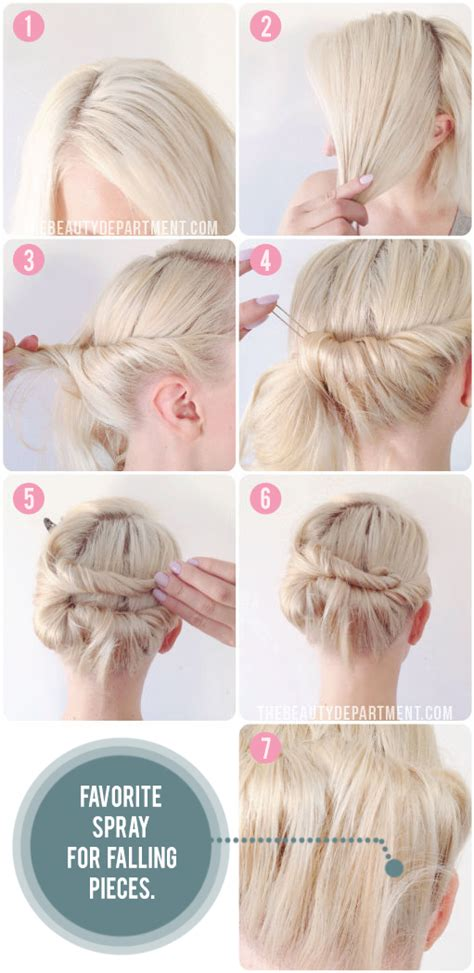 how to tie bob hairstyle the beauty department your daily dose of pretty knot