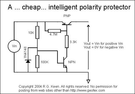 power diode polarity a cheap