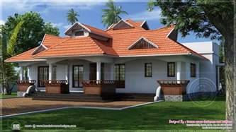 One Floor House by Traditional Kerala Style One Floor House Kerala Home
