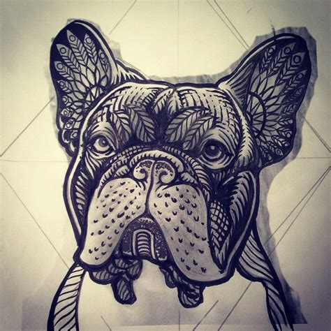 tribal bulldog tattoo 25 best ideas about bulldog on