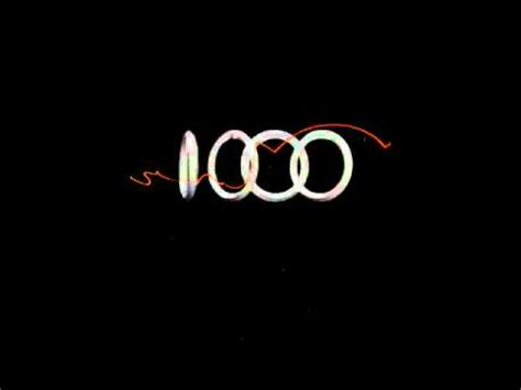 Audi Logo Wallpaper by Logo Audi Video Wallpaper Youtube