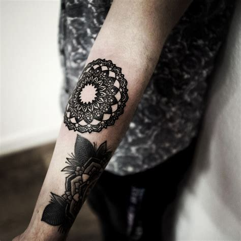 art black inked tattoo ink tattooed blackwork tattooist