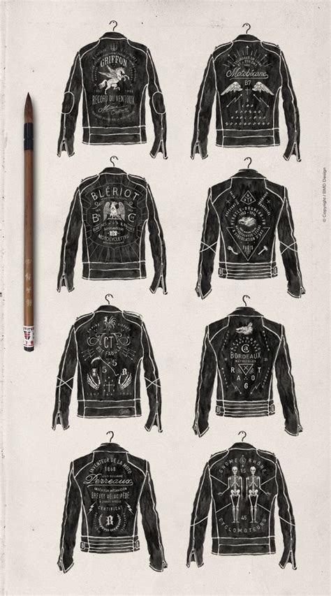 jacket hand design the made shop painter leather biker jacket typography