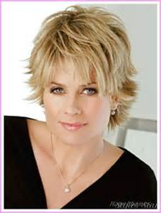 short haircuts for women with round faces over style