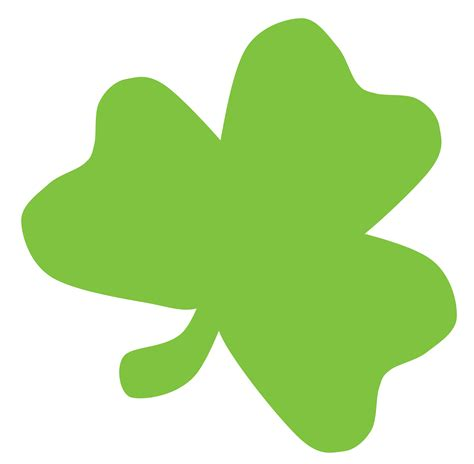 shamrock green free clipart of a green st paddy s day clover shamrock